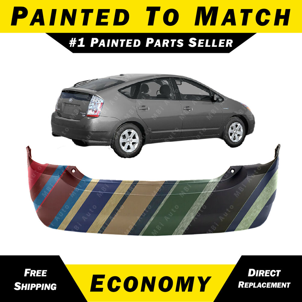 New painted to match rear bumper cover replacement for for Ebay motors toyota prius