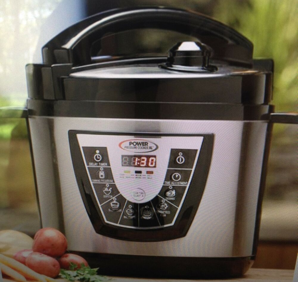 Electric Pressure Cooker On Tv ~ Asotv power pressure cooker xl new in box as seen on