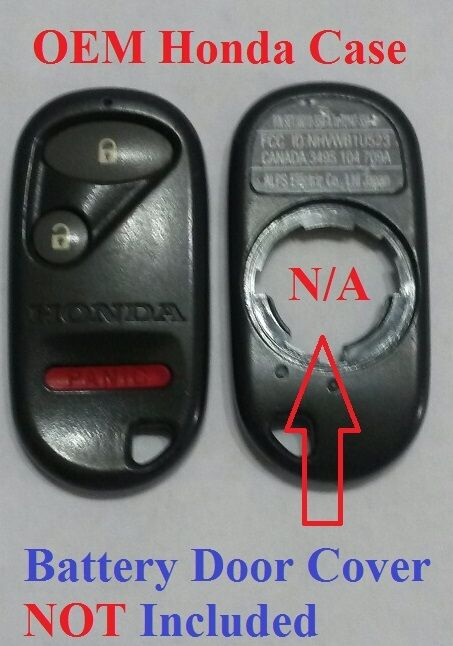 oem honda keyless entry remote key fob case button fix repair nhvwbu bu ebay