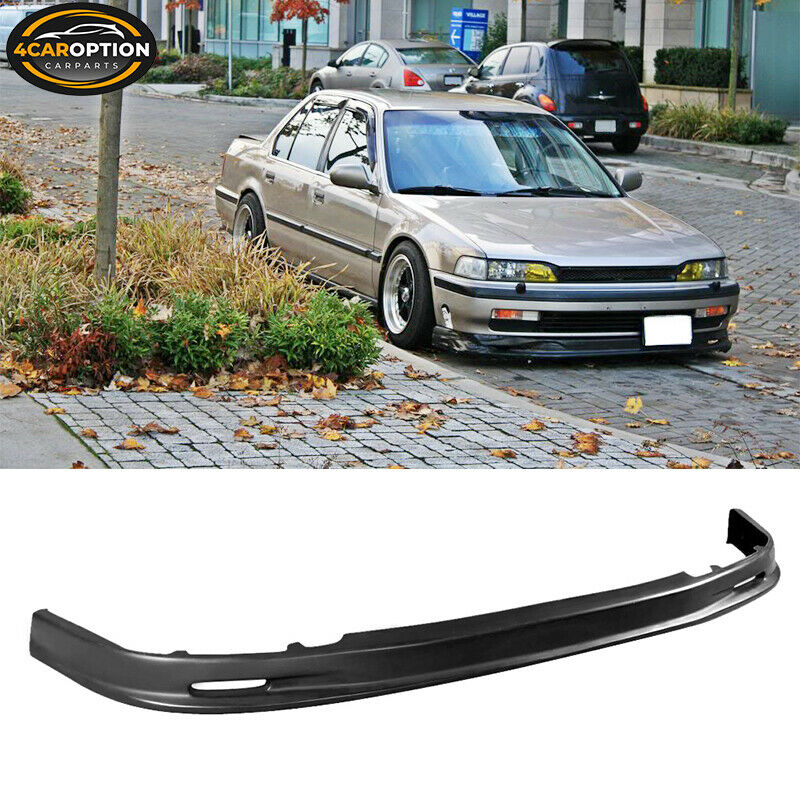 90 93 honda accord mg front bumper lip spoiler urethane ebay. Black Bedroom Furniture Sets. Home Design Ideas