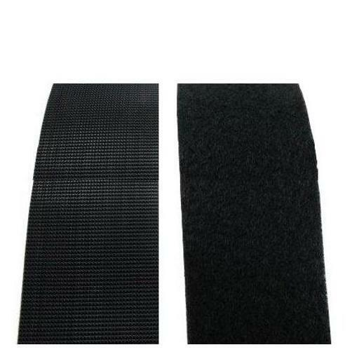 2 Quot Black Industrial Strength Adhesive Back Velcro Per Ft