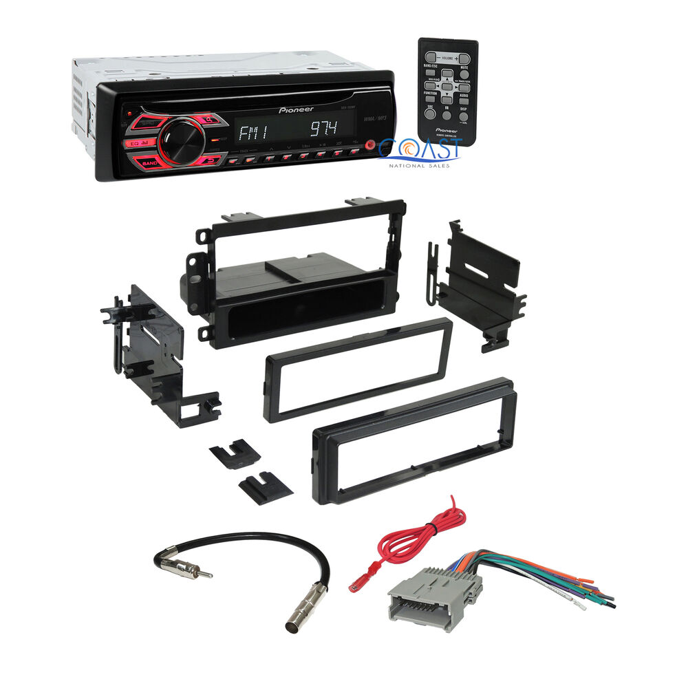 Pioneer Car Radio Stereo Dash Kit Harness For Gm Gmc Chevy