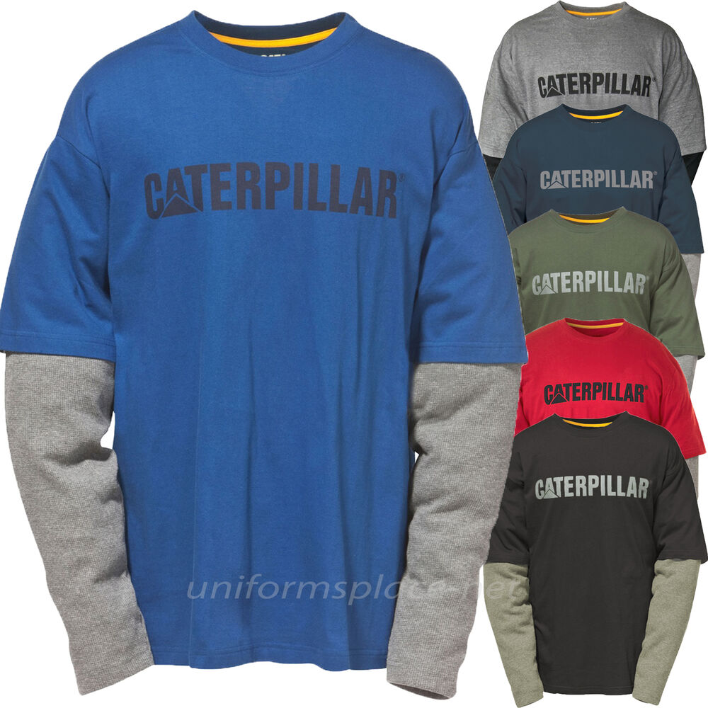 Caterpillar t shirt men cat thermal layer long sleeve Thermal t shirt long sleeve