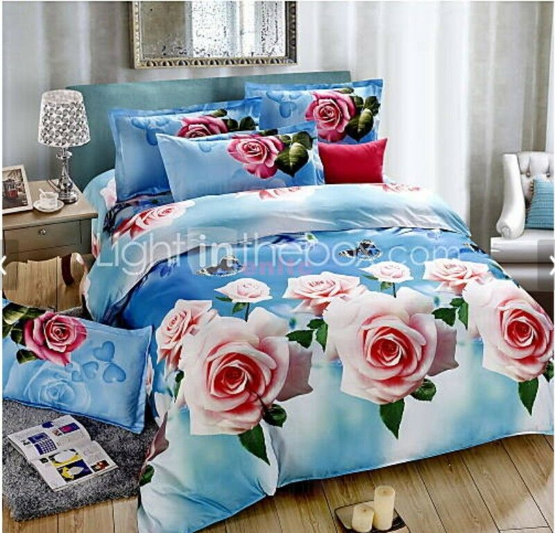 New3d Fashion Comfortable Print Bedding Four Piece