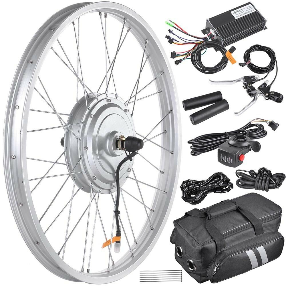 36v 750w 24 front wheel electric bicycle conversion kit for Bicycle electric motor kits
