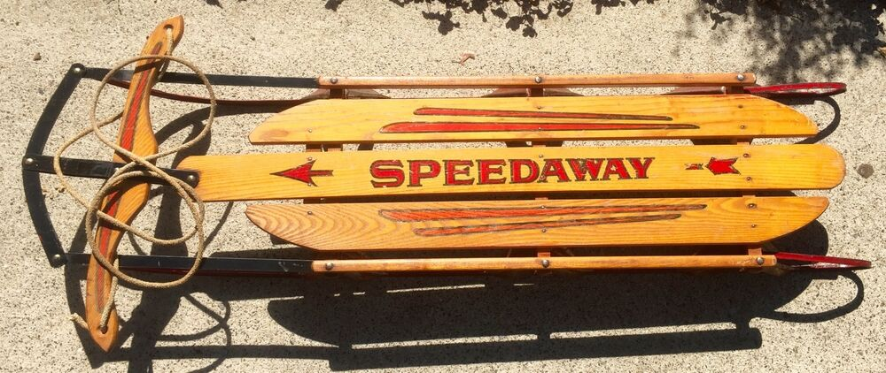 Vintage Speedaway Sled 55 Quot Private Message For Shipping Or