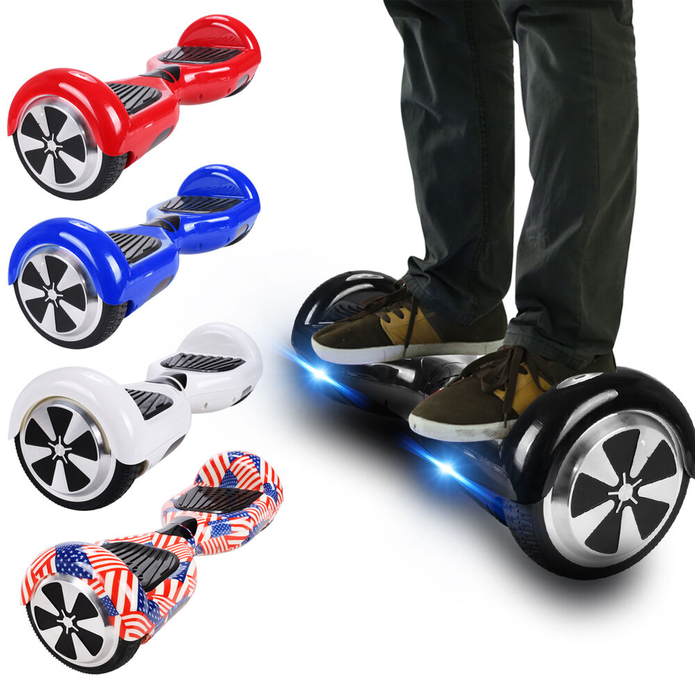 cool 6 5 electric self balancing scooter 2wheels. Black Bedroom Furniture Sets. Home Design Ideas