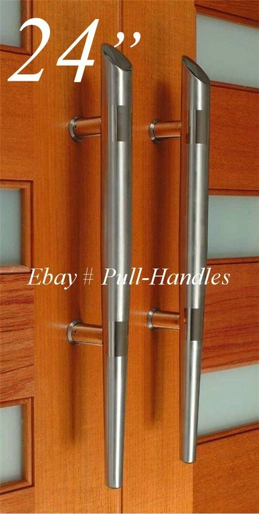 24 Inch Long Door Handle Ladder Pull Handle Entry Door Stainless Steel EBay