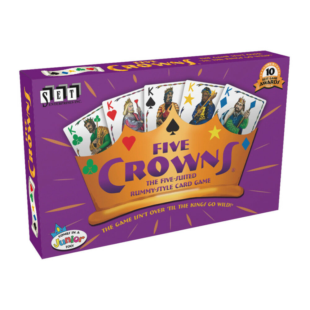 Five Crowns Card Game NEW
