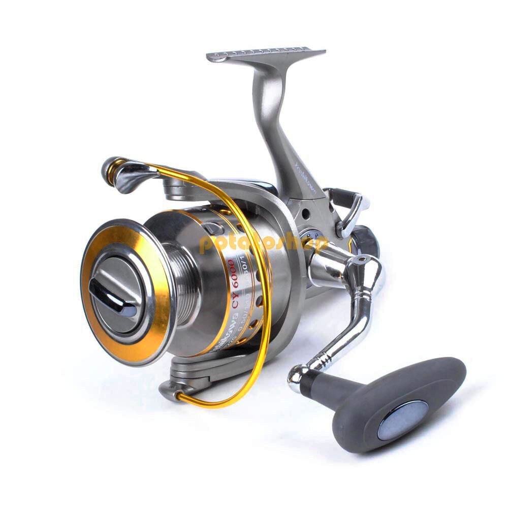 Yoshikawa 11bb surf fishing spinning reel bait feeder for Surf fishing reels