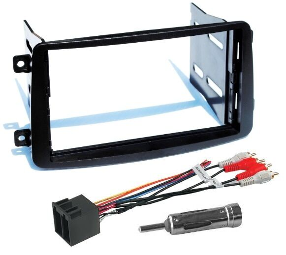 Mercedes Benz Stereo Installation Of Mercedes Benz Double 2 Din Dash Radio Stereo Install Kit