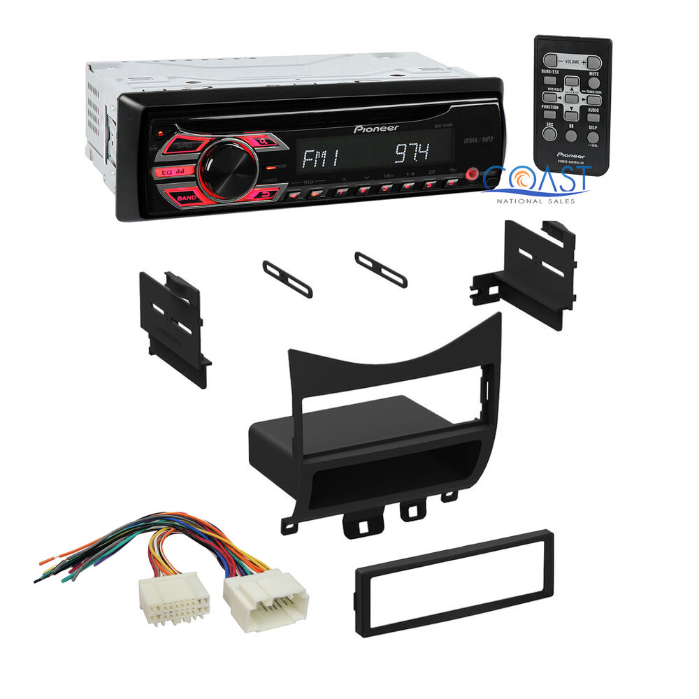pioneer car radio stereo single din dash kit harness for. Black Bedroom Furniture Sets. Home Design Ideas