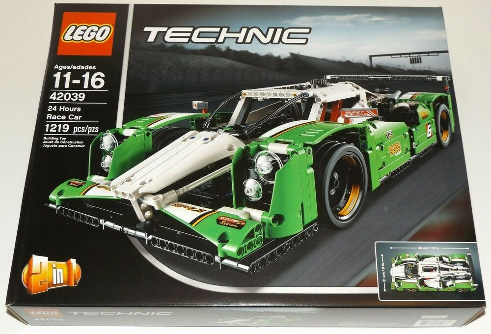 lego technic 24 hours race car 42039 2 in 1 suv 4 x 4. Black Bedroom Furniture Sets. Home Design Ideas