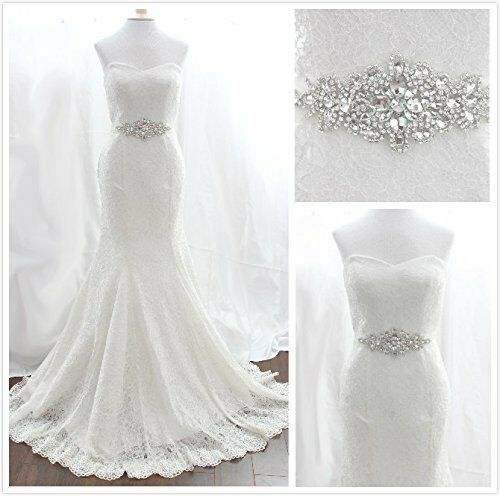 Trlyc wedding dress belt bridal belt sash belt pearls belt for Wedding dress belt sash