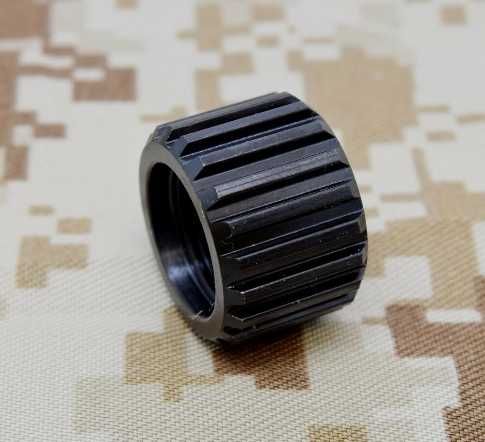 Quot long bull barrel thread protector made