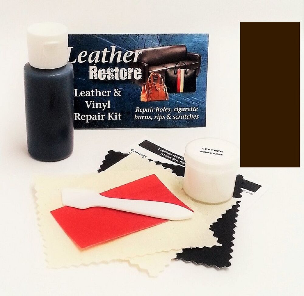 Air Dry Leather & Vinyl Repair Kit ESPRESSO VERY DARK ...