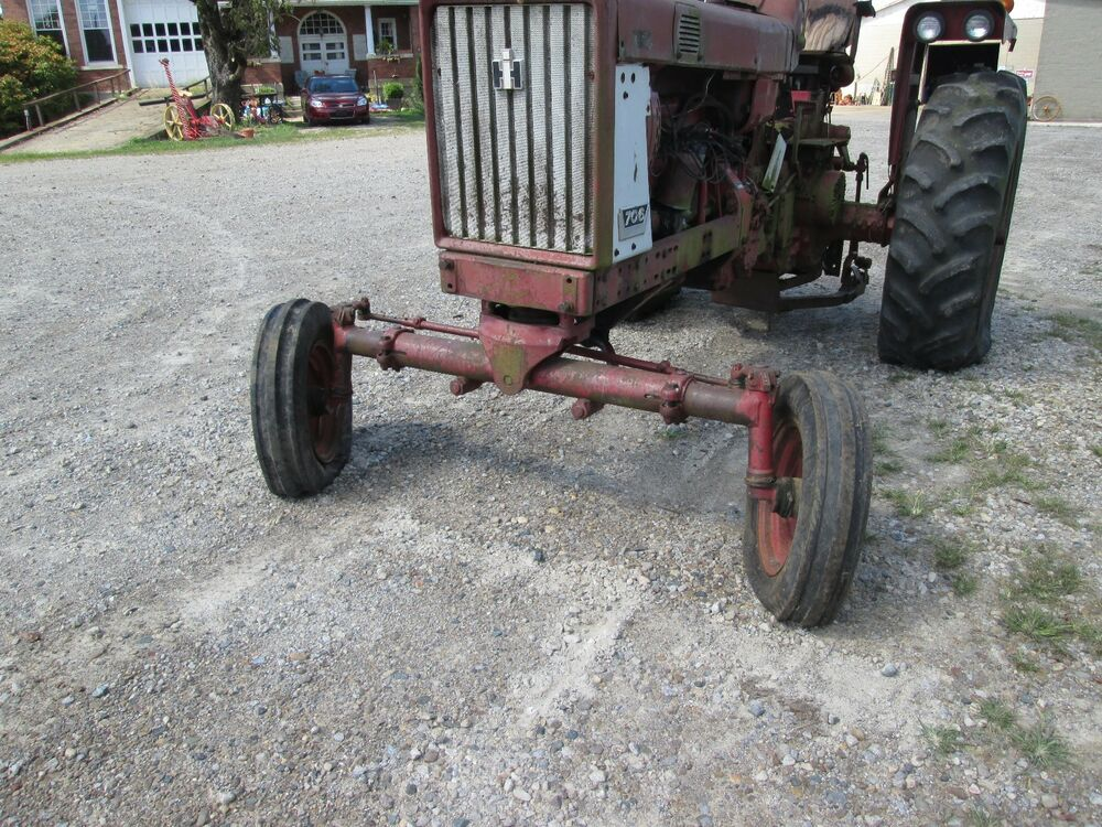 International Tractor Spindle : Farmall  tractor wide front