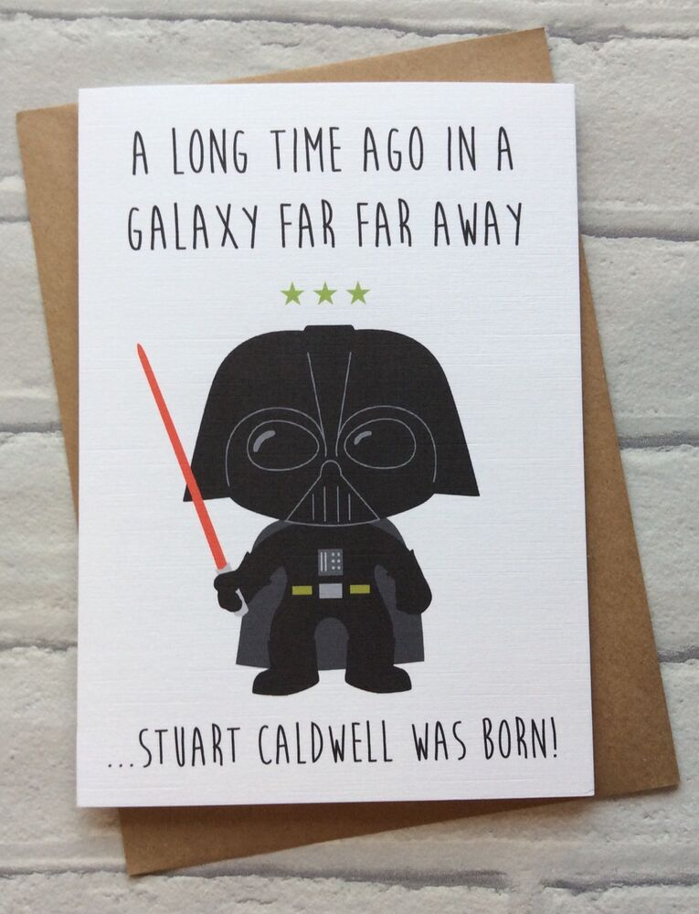 Playful image intended for star wars birthday card printable free