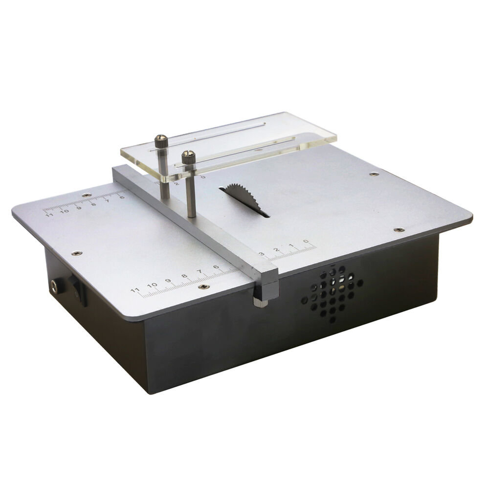 Micro Mini Table Saws Acrylic Cutting Machine Metal Model Sawing Woodworking Saw Ebay