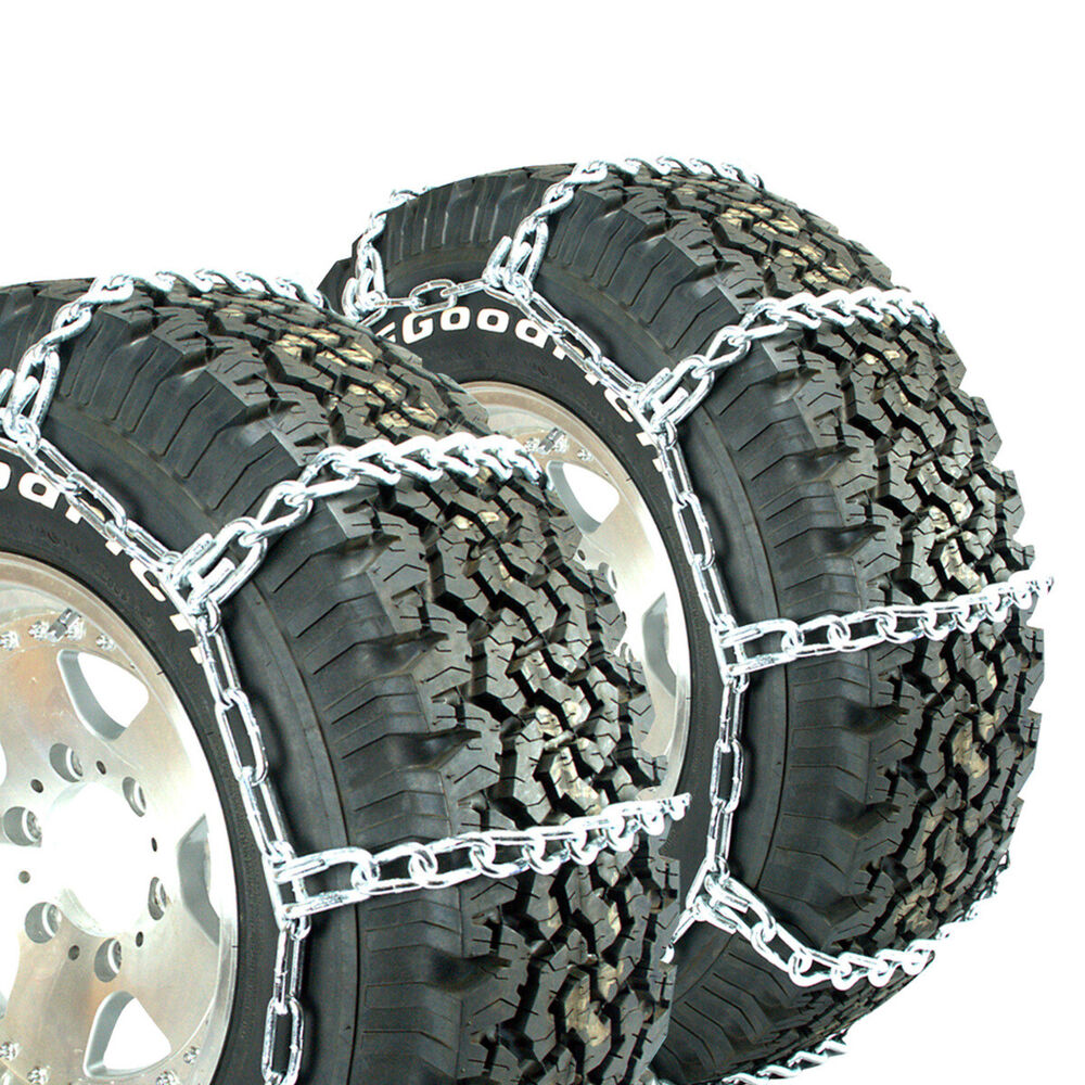 Titan Truck Mud And Snow Off Road Link Tire Chains 8mm 265