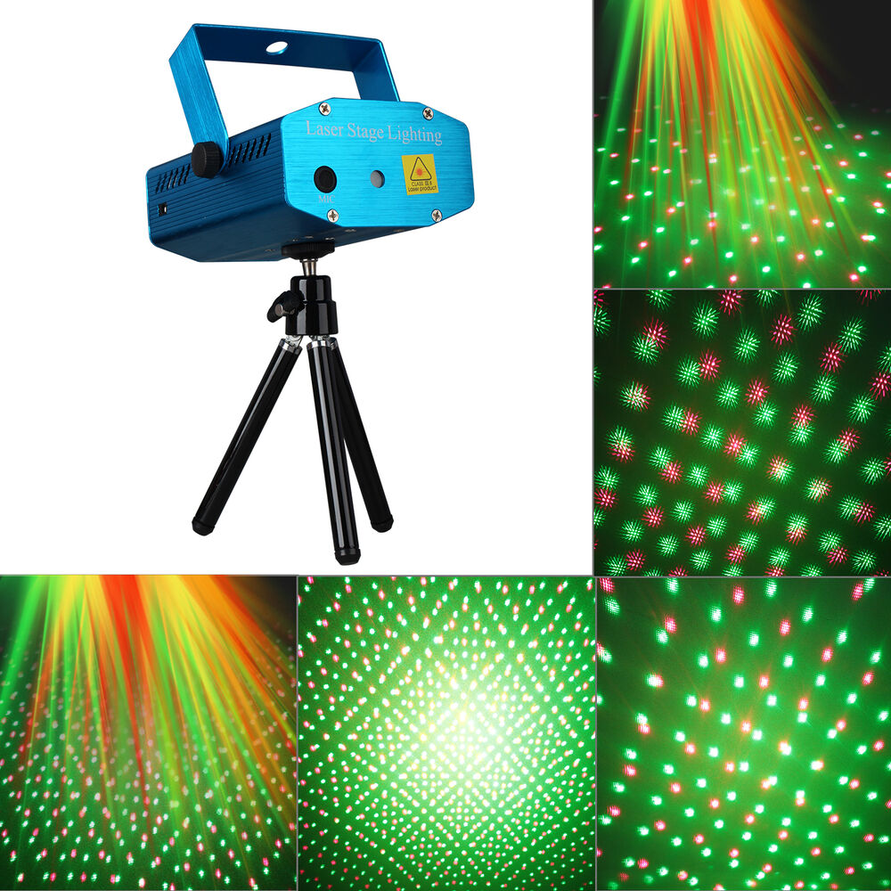 Laser Projector Stage Lights Mini Led R Amp G Lighting Party