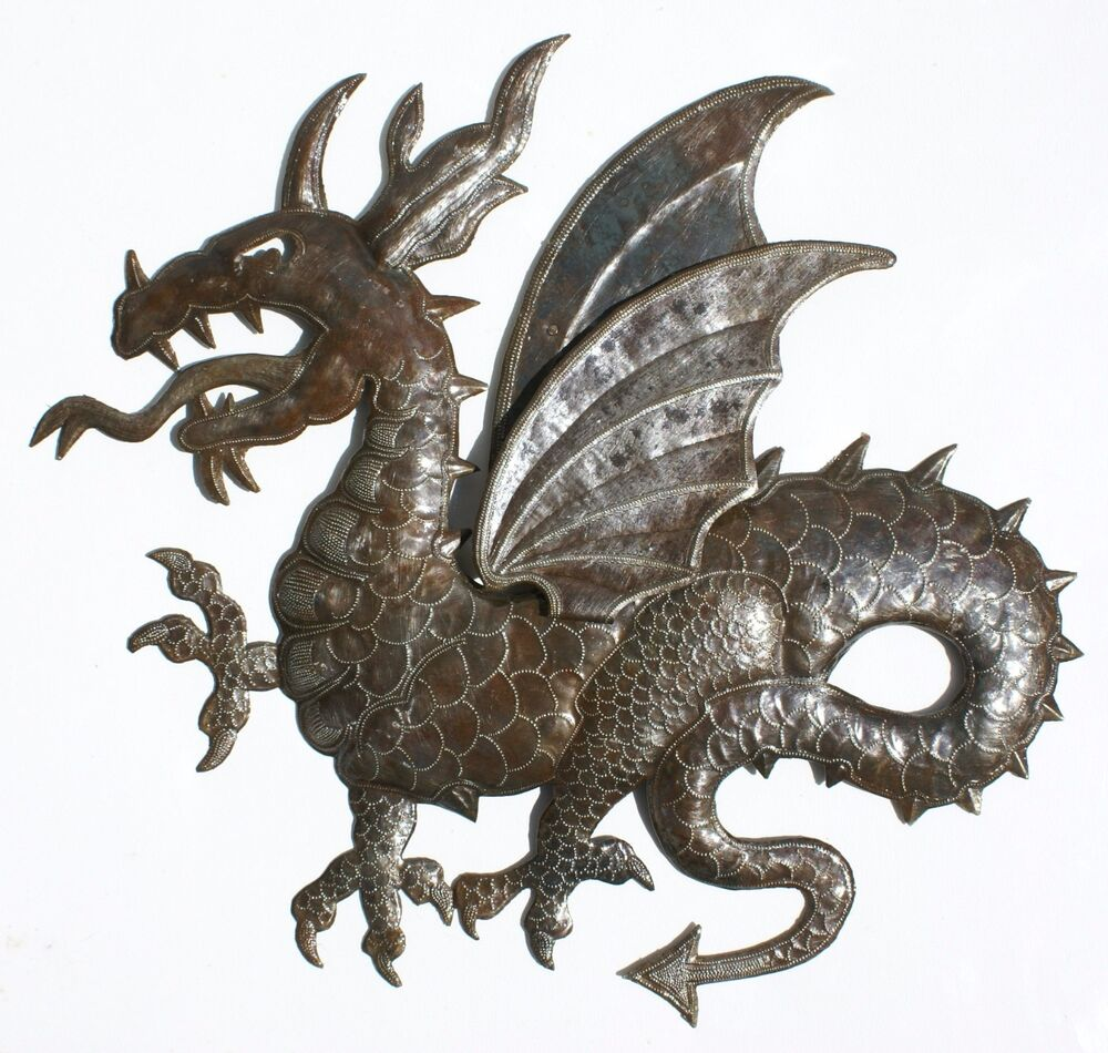 Dragon Sheet Metal Art Pictures For Wall Hanging Top Home