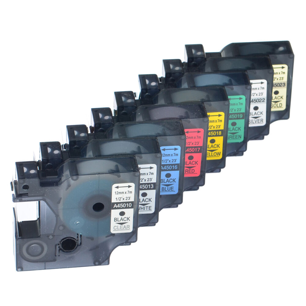 Great Quality Label Tape Cassettes For Dymo D1 Label