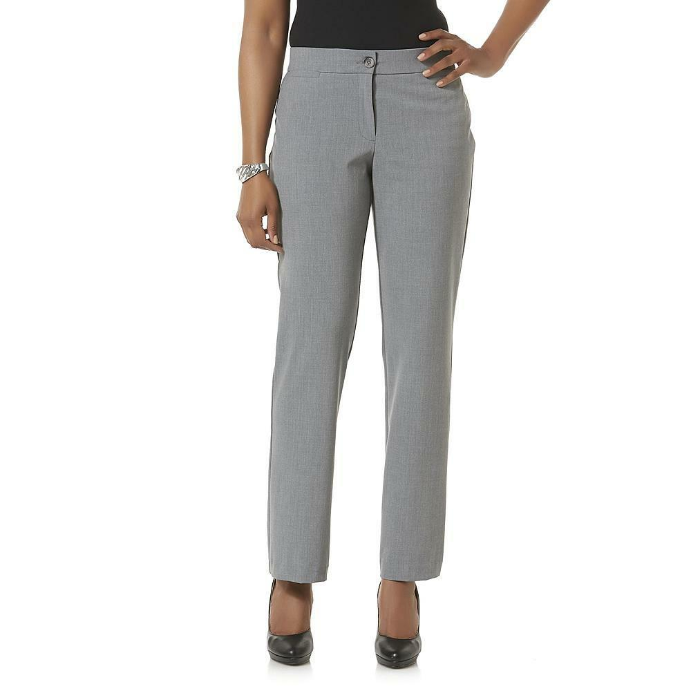 Wonderful Express Light Tweed Wide Waistband Flare Editor Pant In Gray  Lyst