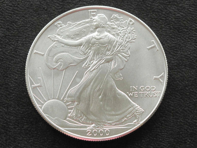 2000 Liberty Walking American Silver Eagle Dollar Coin Ebay