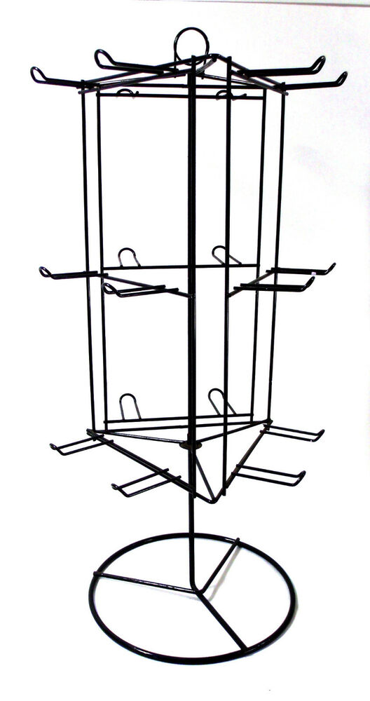 Dav Counter Top Metal Wire Store Display Rack Rotating Spinning