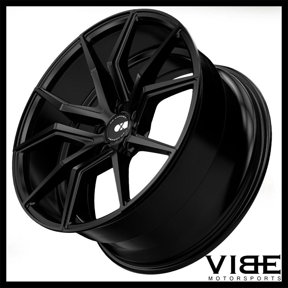"C7 Z06 Wheels On C5 >> 19"" 20"" XO VERONA BLACK CONCAVE WHEELS RIMS FITS CHEVROLET C5 CORVETTE 
