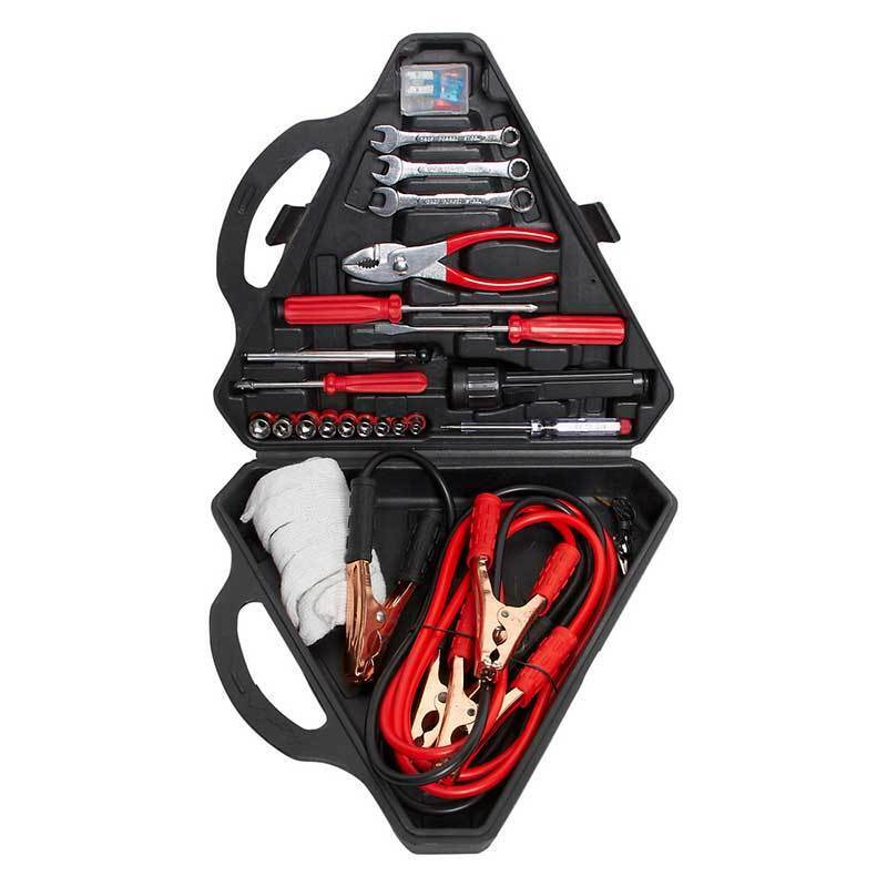 Toptech Roadside Emergency Repair Tool Kit Jump Leads Car