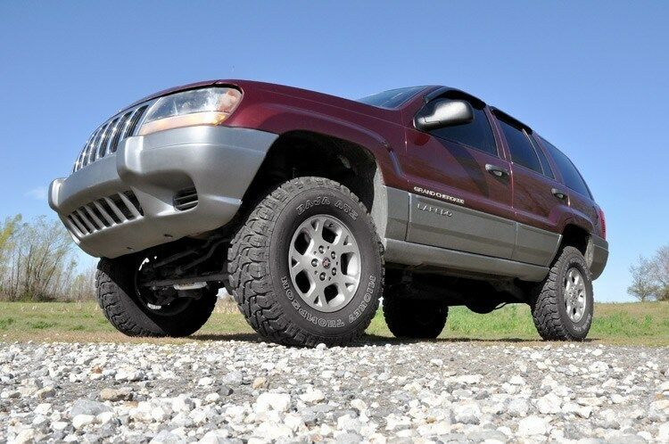 new rough country 1999 2004 jeep wj grand cherokee 4wd 4 suspension l. Cars Review. Best American Auto & Cars Review