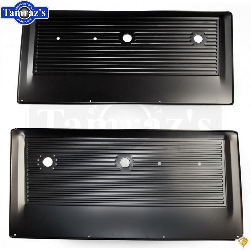 67 72 chevy pickup truck inner interior stamped metal door panel edp pair ebay. Black Bedroom Furniture Sets. Home Design Ideas