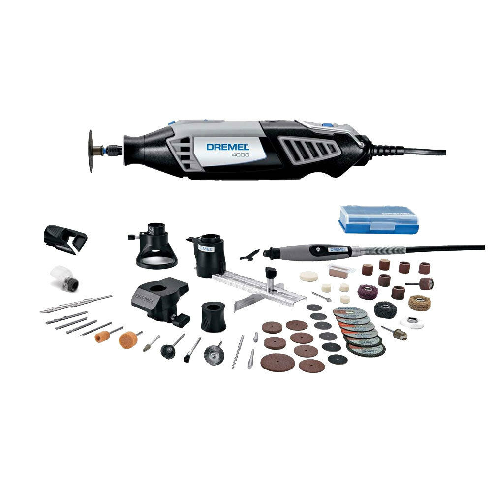 4000 series high performance rotary tool kit dremel 4000 6 50 new ebay. Black Bedroom Furniture Sets. Home Design Ideas