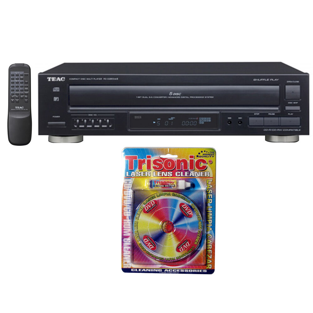 teac 5 disc carousel cd player w remote 12 pd d2610mk2 w. Black Bedroom Furniture Sets. Home Design Ideas