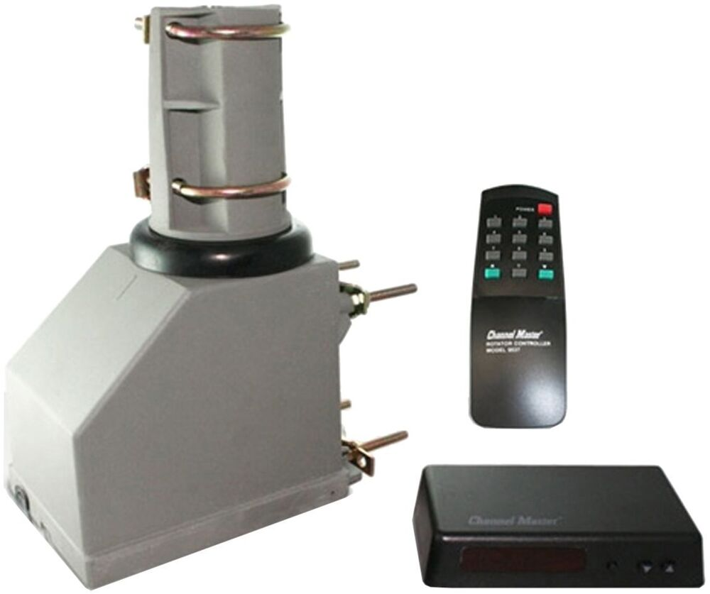 Channel Master Tv Antenna Rotator System With Remote