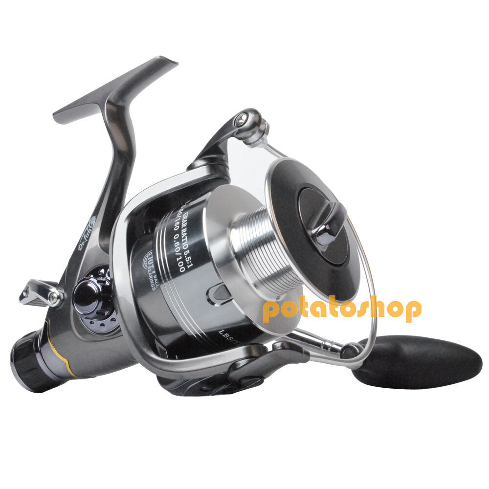 Hercules ii 10 1bb baitfeeder spinning reel large sea for Ebay fishing reels
