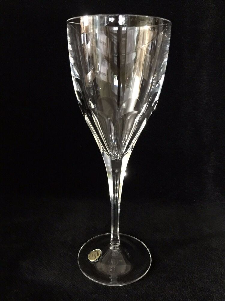 rare shape cristal j g durand france crystal champagne flute 9 t x 3 1 4 d ebay. Black Bedroom Furniture Sets. Home Design Ideas