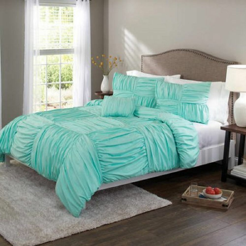 Better Homes And Gardens Basketweave Ruched Bedding