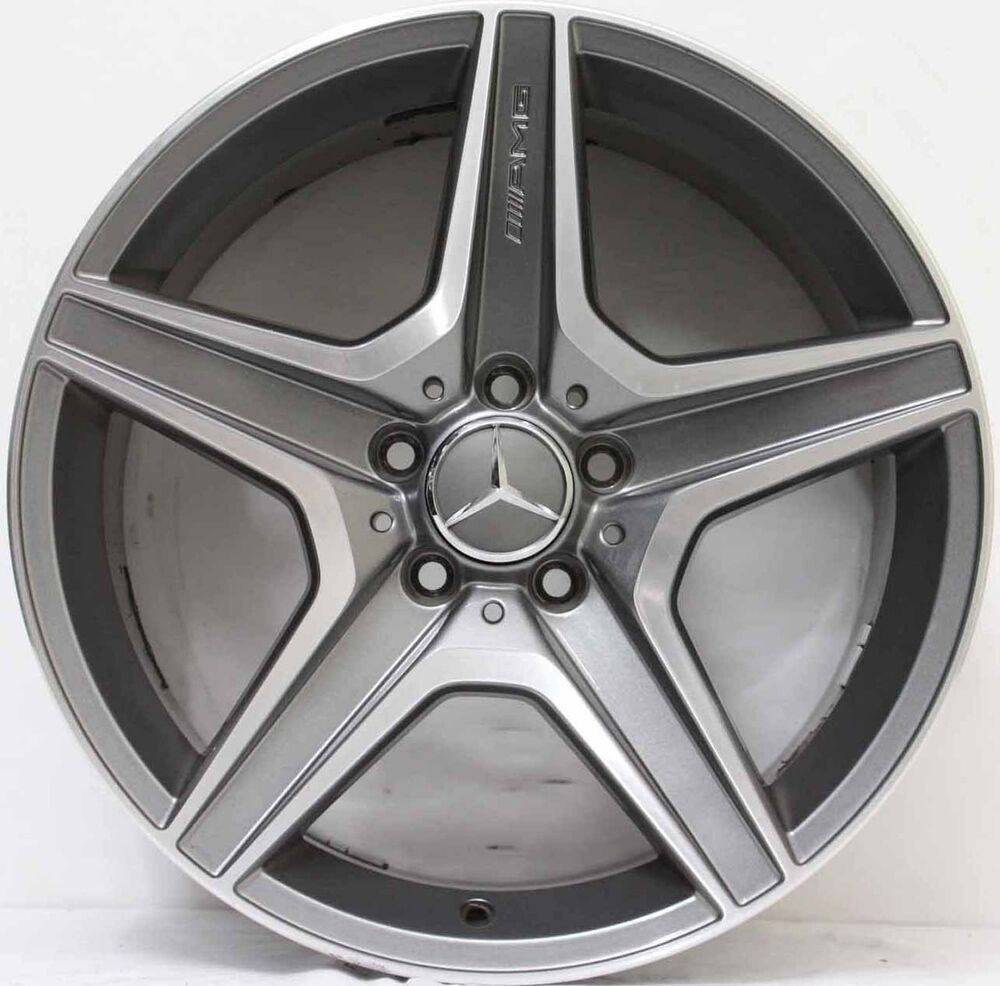 18 inch genuine mercedes benz c63 amg 2010 model alloy for Mercedes benz mag wheels