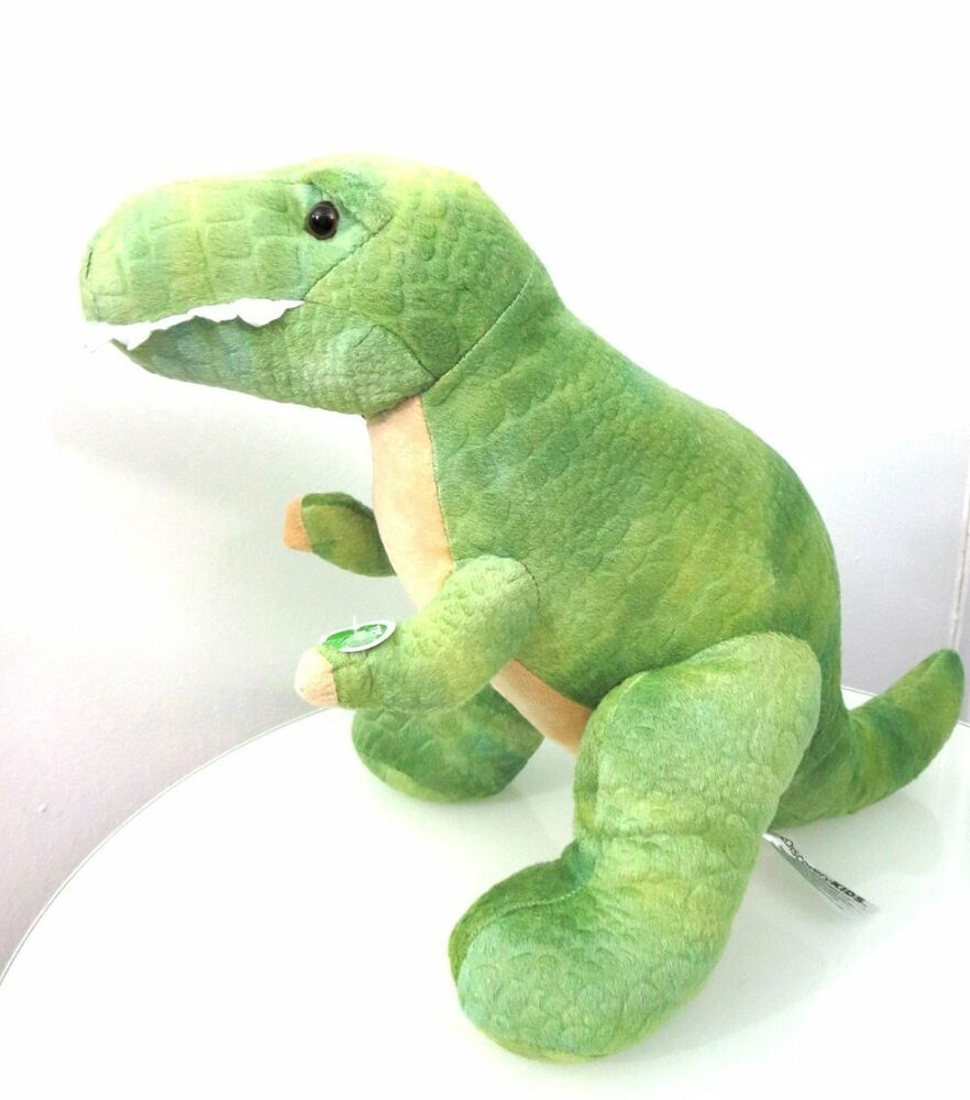 T Rex Dinosaur Toy : Discovery kids plush toy t rex dinosaur with roaring sound