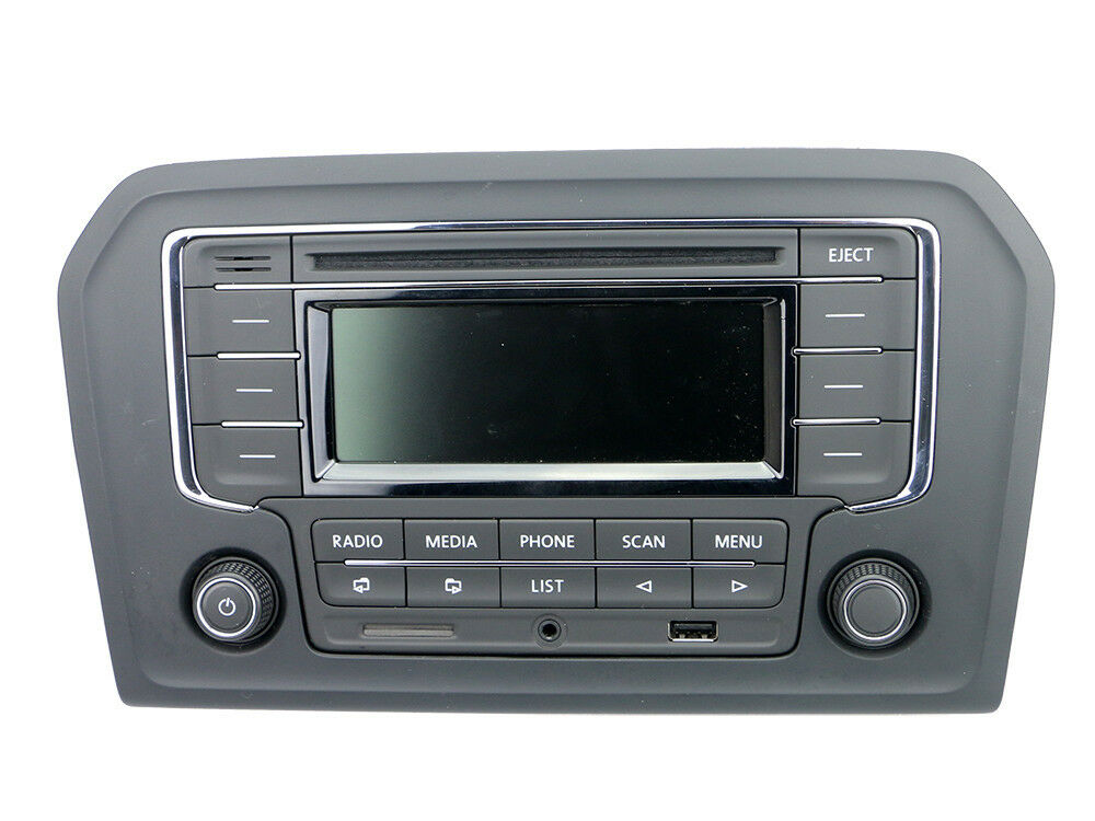 vw rcn210 cd player radio mp3 aux usb sd bluetooth jetta. Black Bedroom Furniture Sets. Home Design Ideas