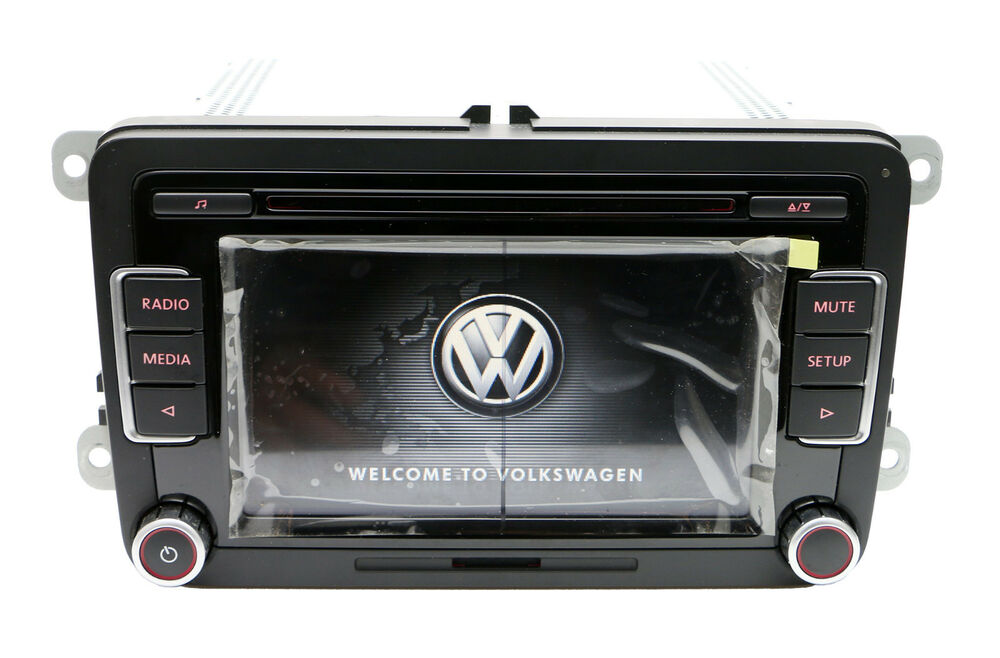 volkswagen rcd510usb rcd510 radio 6 disc cd mp3 player. Black Bedroom Furniture Sets. Home Design Ideas