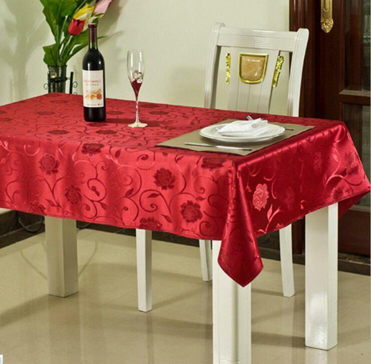 Luxury Christmas Kitchen Towels: Luxury Christmas Table Linen / Decoration Red Gold Glitter