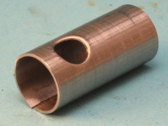 Stainless steel shaft adapter bore