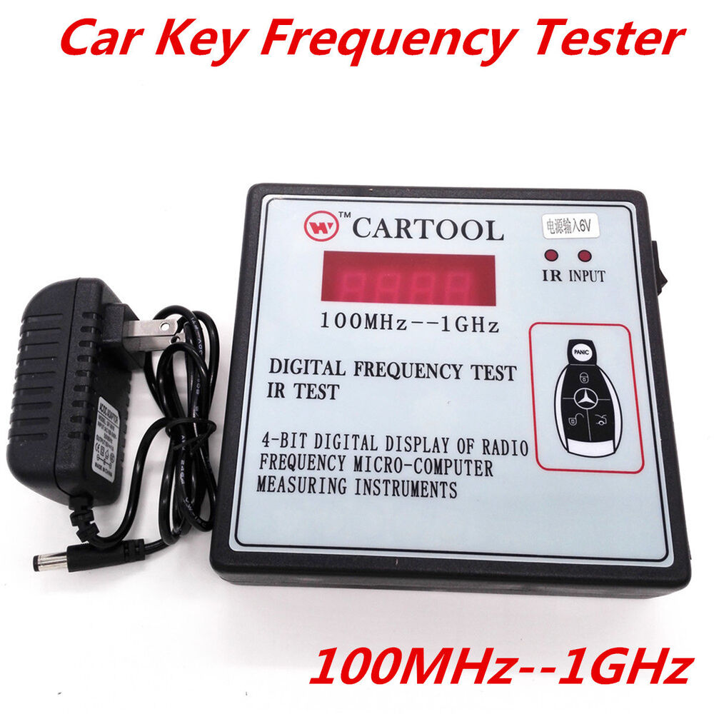 Electronic Measuring Devices For Pickups : Digital frequency test mhz ghz car ir infrared remote