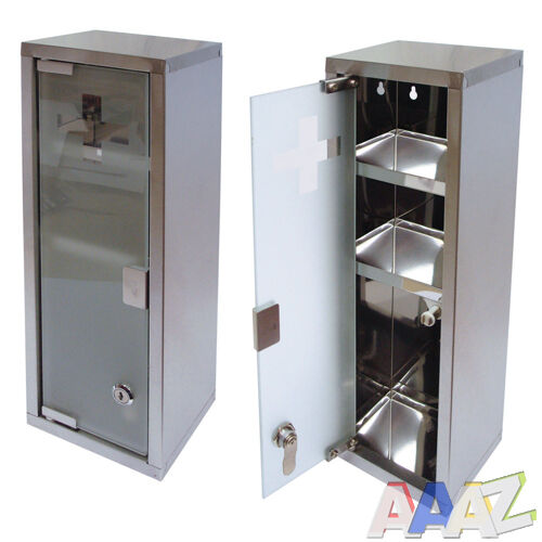 Glass Kitchen Cabinet Doors Only: Large Wall Mountable Medicine Cabinet Cupboard First Aid