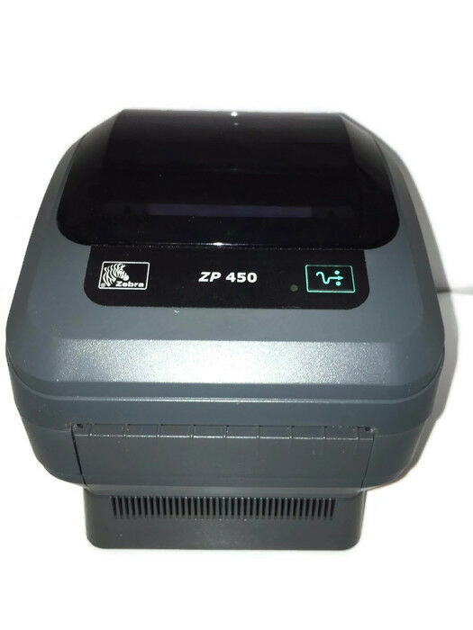 Zebra Zp450 Thermal Shipping Label Barcode Usb Parallel
