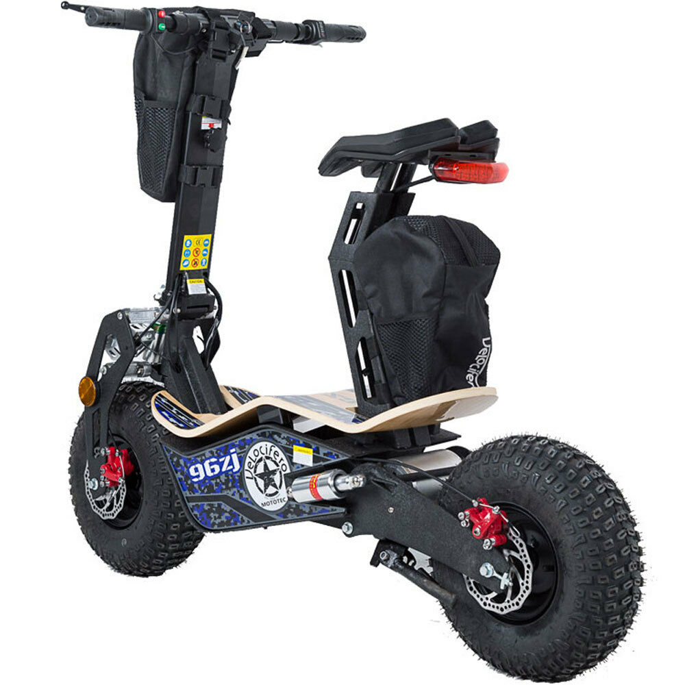 Mototec Mad Electric Scooter 1600w Motor 48v Battery Big